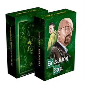 Playing Cards: Breaking Bad Green