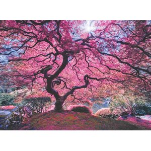 Puzzle: 1000 Pink Tree