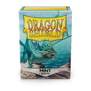 Sleeves: Dragon Shield Matte Mint