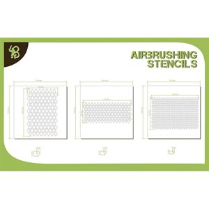 Airbrush Stencils Diamond Pattern 1