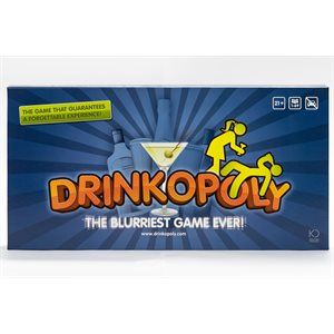 Drinkopoly: The Blurriest Game Ever