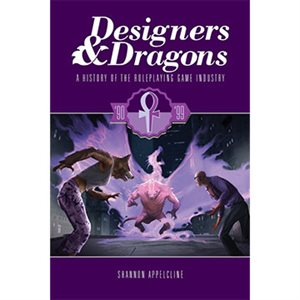 Designers & Dragons The 90S (BOOK)