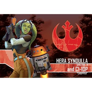 Star Wars Imperial Assault Hera Syndull and C1-10P Ally Pack