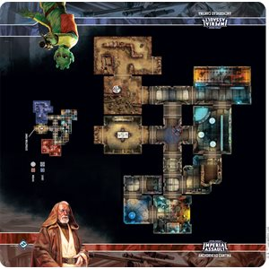 Star Wars Imperial Assault Skirmish Map: Anchorhead Cantina