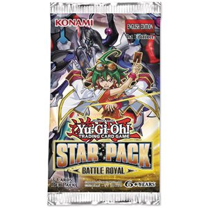 Yugioh Star Pack Battle Royal Booster Display