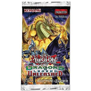 Yugioh Dragons of Legend Unleashed Booster