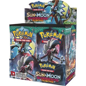 Pokemon: Sun & Moon Guardians Rising Theme Deck Display