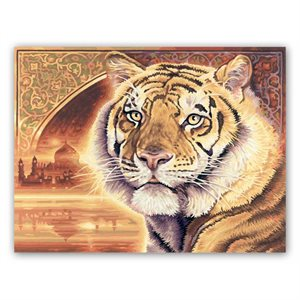 Paint by Numbers: Bengal Tiger - India