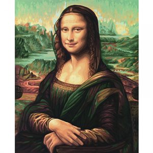 Paint by Numbers: Mona Lisa