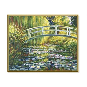 Paint by Numbers: Lily Pond