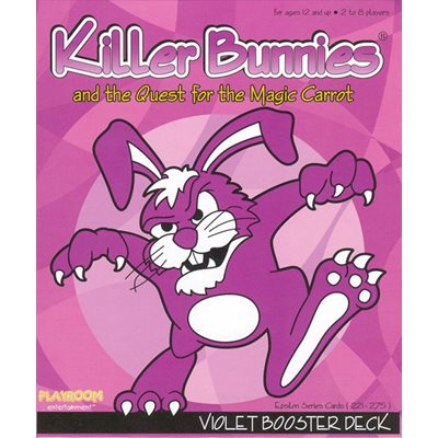 Killer Bunnies Quest: Violet Booster