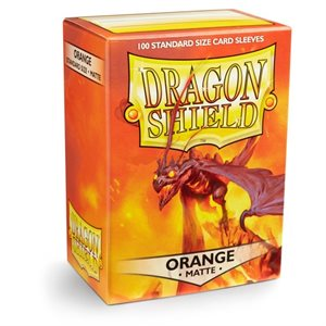 Sleeves: Dragon Shield Matte Orange