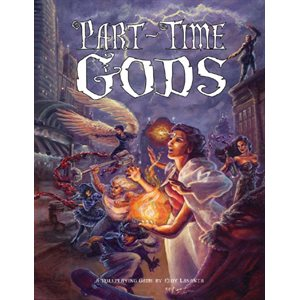 Part Time Gods: Part Time Gods (BOOK)