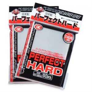 Sleeves: Full Sized Hard Perfect Clear USA Label (50)