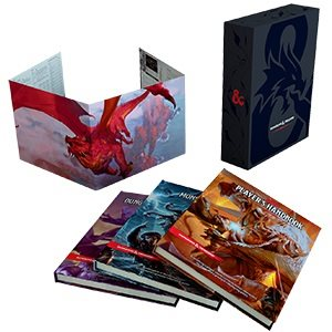 Dungeons & Dragons: Core Rulebook Gift Set (BOOK)