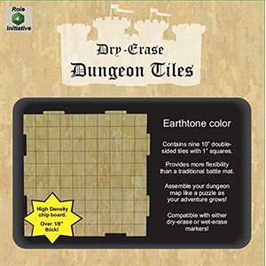 Dungeon Tiles - Earthtone - Pack of 9 ten inch squares