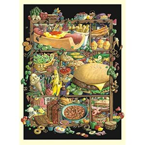 Puzzle: 1000 Shadowbox Hunt - Food