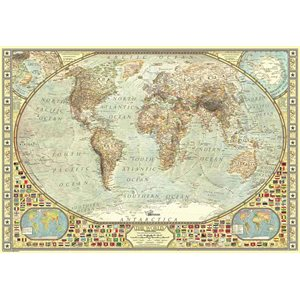 Puzzle: 2000 World Map