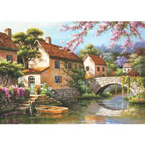 Puzzle: 1500 Country Village Canal
