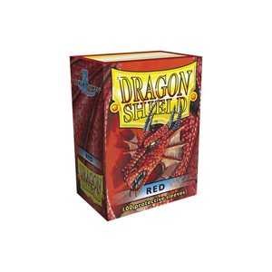 Sleeves: Dragon Shield Red