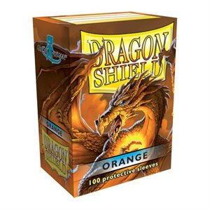 Sleeves: Dragon Shield Orange