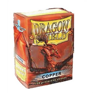 Sleeves: Dragon Shield Copper