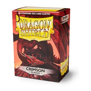 Sleeves: Dragon Shield Crimson