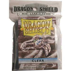 Sleeves: Mini Dragon Shield (10) Clear