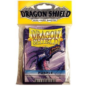 Sleeves: Mini Dragon Shield (10) Purple