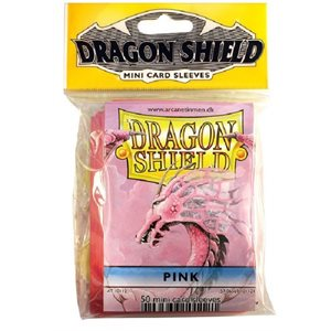 Sleeves: Mini Dragon Shield (10) Pink