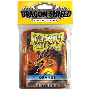 Sleeves: Mini Dragon Shield (10) Orange