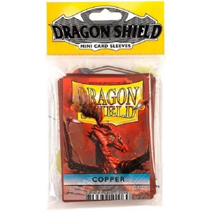 Sleeves: Mini Dragon Shield (10) Copper