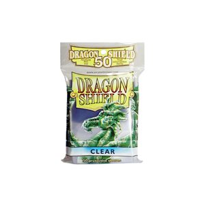 Sleeves: 50Ct Dragon Shield Clear
