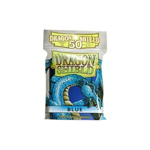 Sleeves: 50Ct Dragon Shield Blue