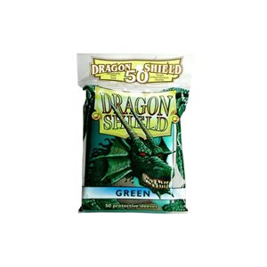 Sleeves: 50Ct Dragon Shield Green