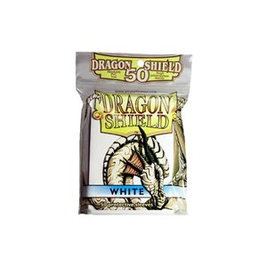 Sleeves: 50Ct Dragon Shield White