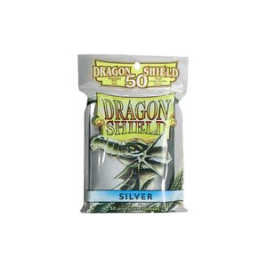 Sleeves: 50Ct Dragon Shield Silver