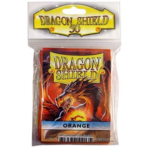 Sleeves: 50Ct Dragon Shield Orange