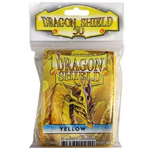 Sleeves: 50Ct Dragon Shield Yellow