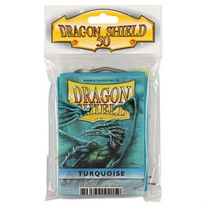 Sleeves: 50Ct Dragon Shield Turquoise