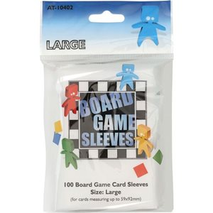 Sleeves: Board Game Clear Large