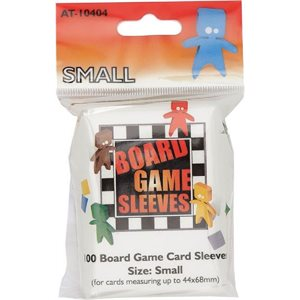 Sleeves: Board Game Clear Small