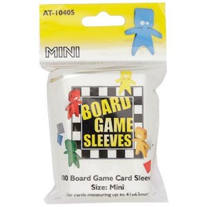 Sleeves: Board Game Clear Mini