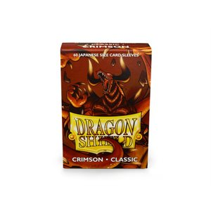 Sleeves: Dragon Shield Japanese Classic Crimson (60) ^ Nov 2018