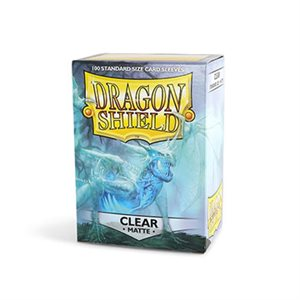 Sleeves: Dragon Shield Matte Clear