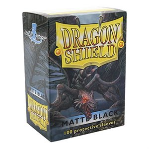 Sleeves: Dragon Shield Matte Black