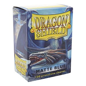 Sleeves: Dragon Shield Matte Blue