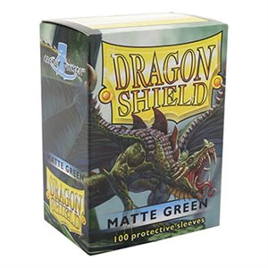 Sleeves: Dragon Shield Matte Green