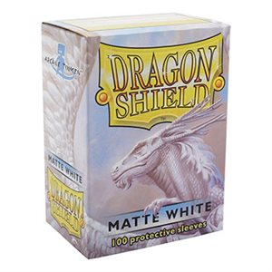 Sleeves: Dragon Shield Matte White