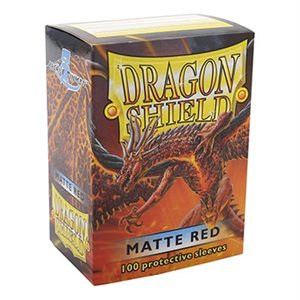 Sleeves: Dragon Shield Matte Red